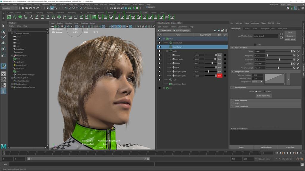 Support XGen Interactive Grooming feature in your plugin - Around